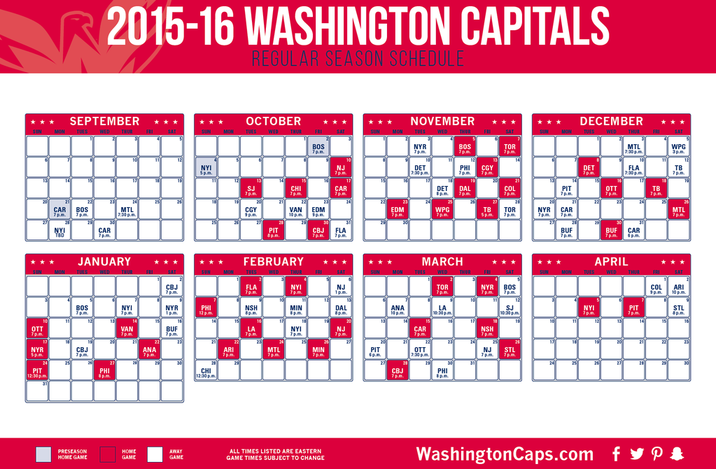2015-2016 REGULAR SEASON SCHEDULE 29a8b01595b