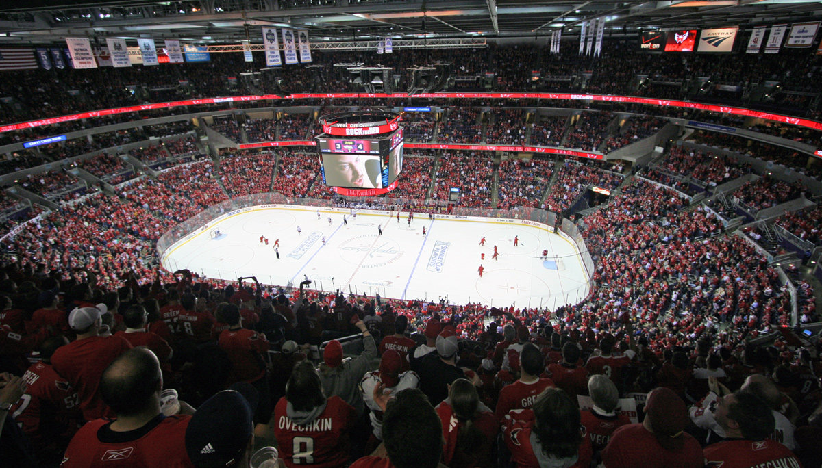 How Does The Verizon Center Compare To Other Nhl Arenas