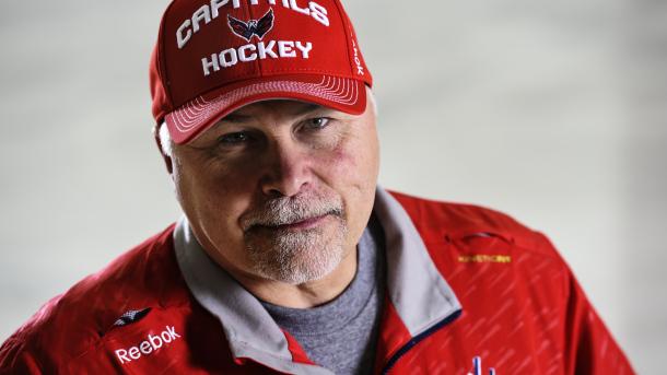 Washington Capitals head coach Barry Trotz
