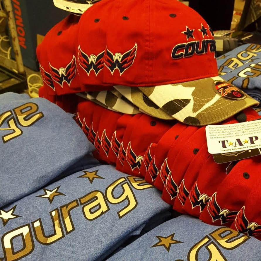 55b6e623e7a Courage Caps and T-shirts Return to Benefit Military Families in ...
