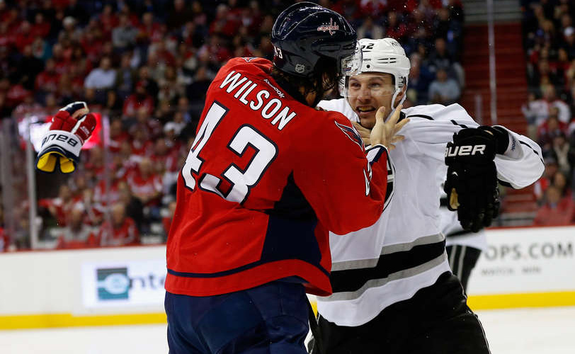 11d5ab17a65 Tom Wilson  Choosing His Battles Is A Good Thing For the Caps…and His  Reputation