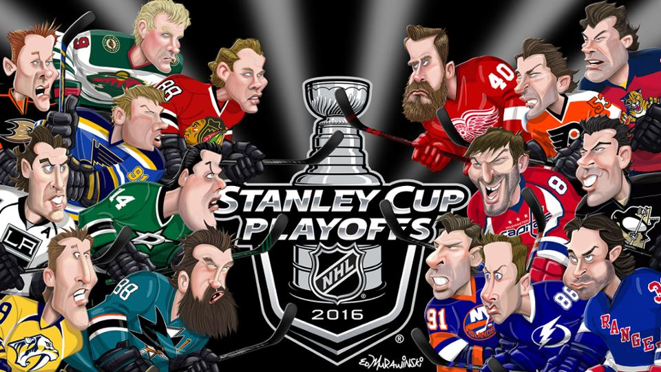 Here are the playoff matchups for round one. Let s start with the Eastern  Conference. We all know the Caps will take on the Flyers. 133907f5e4a4