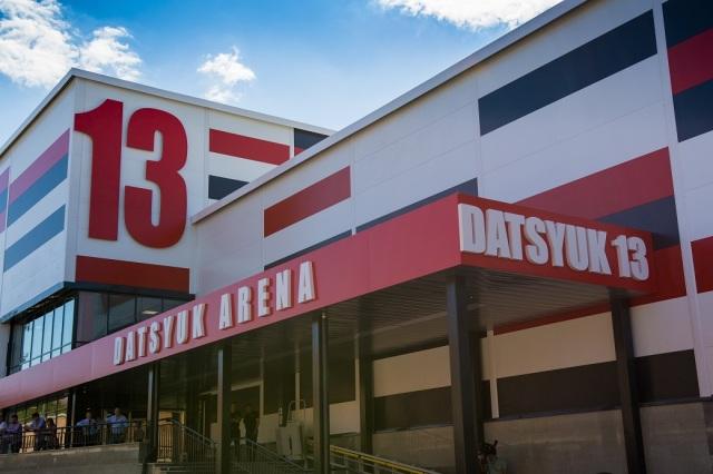 19.08.16. Открытие «Дацюк-Арены». |19.08.16. Datsyuk Arena opening.