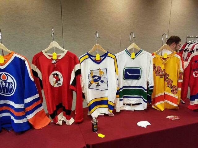 Scenes From the Game Used Hockey Jersey Expo in Dulles  77fd654dd