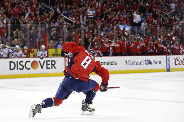 NHL: New York Rangers at Washington Capitals