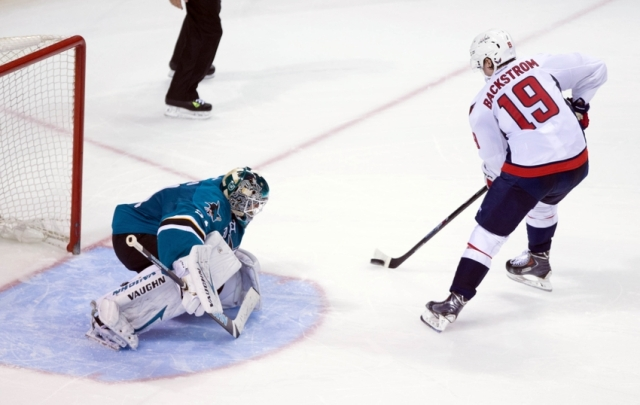 NHL: Washington Capitals at San Jose Sharks