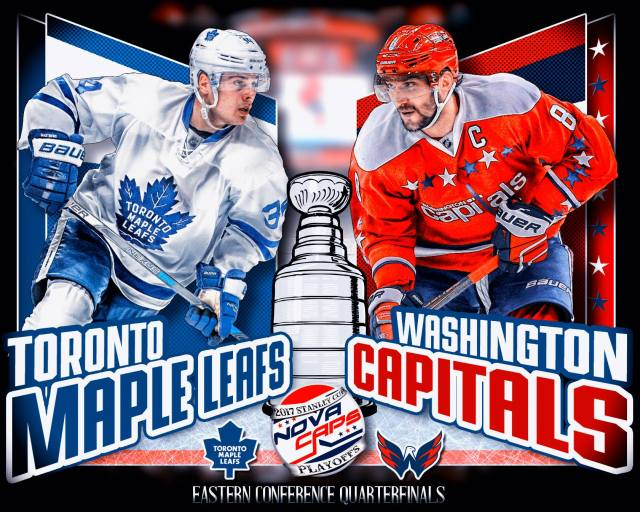 Round One Series Preview  Toronto Maple Leafs Versus Washington ... 6e2f2f20934