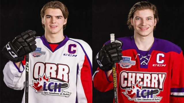Nico Hischier and Nolan Patrick