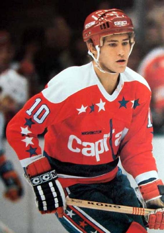 Portrait Of A Washington Capitals Alumni Bobby Carpenter