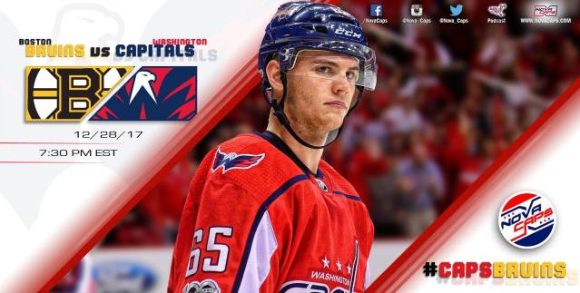 Bruins @ Capitals graphic