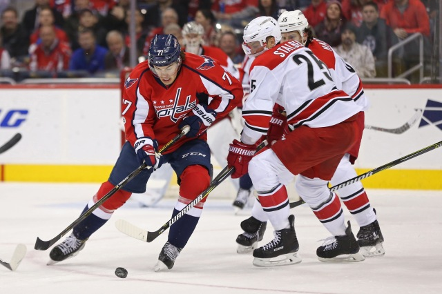 NHL: Carolina Hurricanes at Washington Capitals