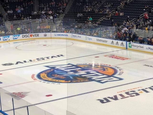 NHL All Star Skills 1