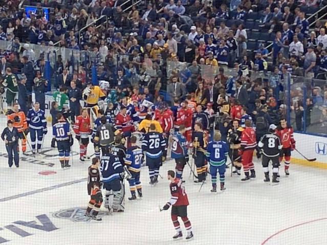 NHL All Star Skills 4