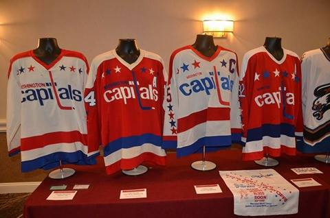 The event will be displaying and selling a wide variety of Capitals and  other team s game used memorabilia including but not limited to  jerseys e3dbdce2834