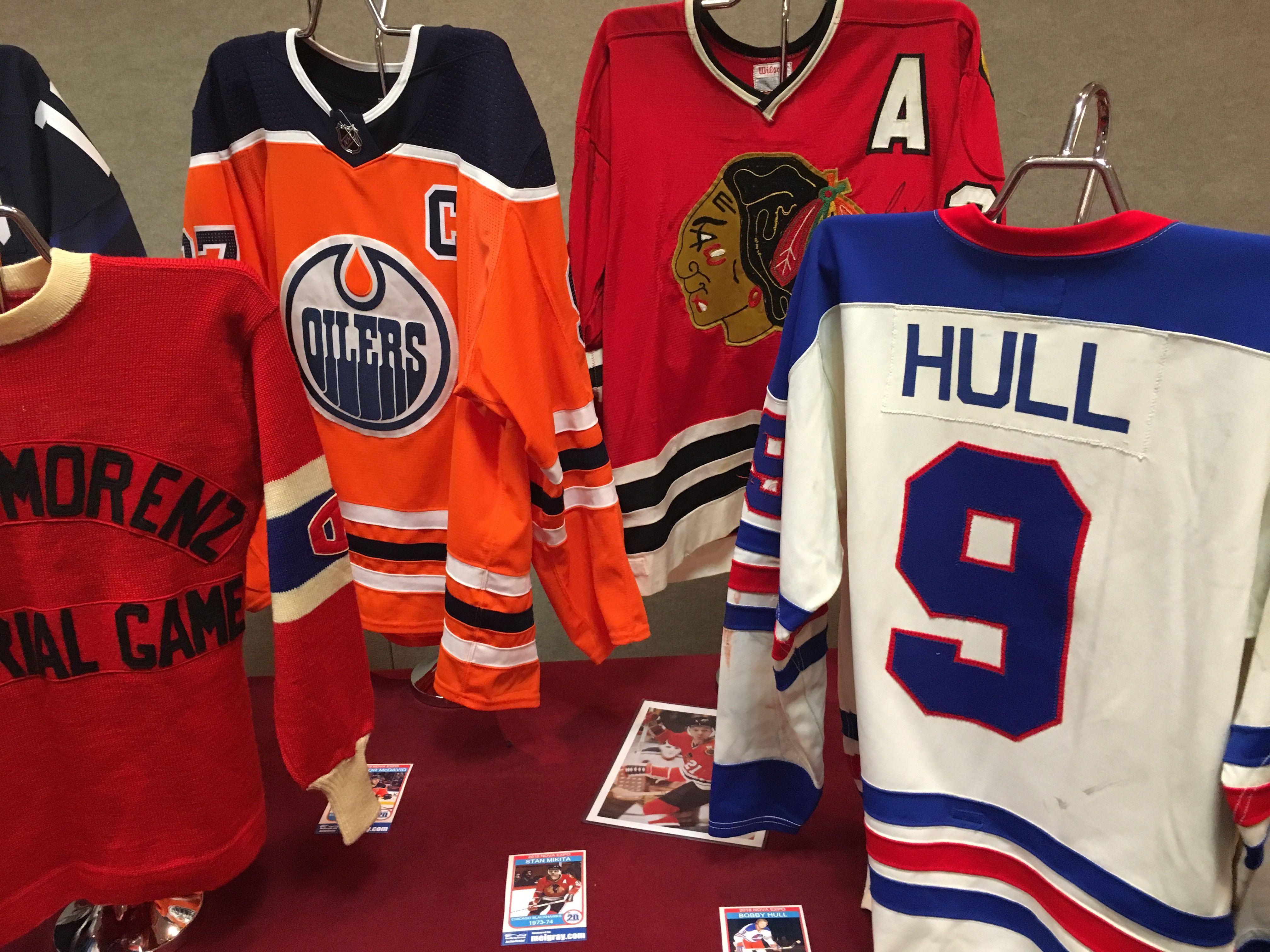 Hockey Fans and Collectors Take Part in 12th Annual NoVa Game Worn Jersey  Expo  994705b2f