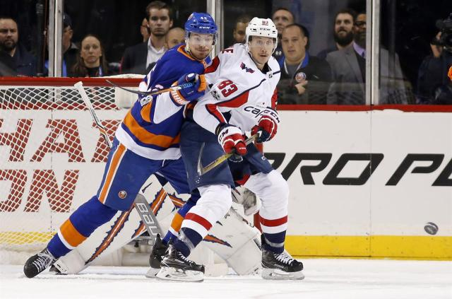 343ec63047f Capitals Set to Begin a Home-and-Home with Islanders at Barclays Center on  Thursday