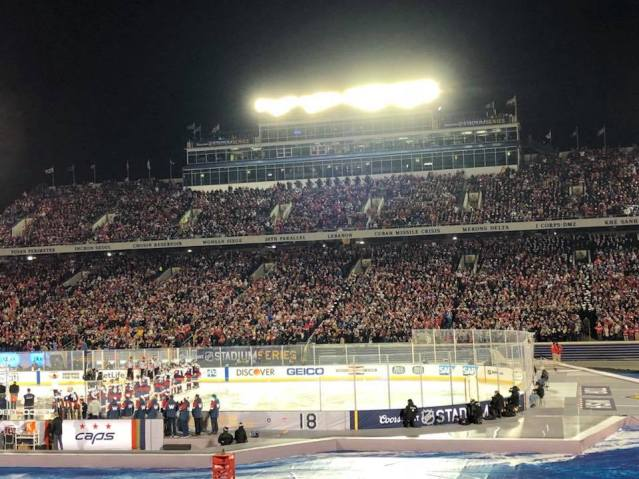 6b0021f5a9d Stadium Series 1. The 2018 NHL Stadium Series marked my 3rd Washington  Capitals outdoor game ...