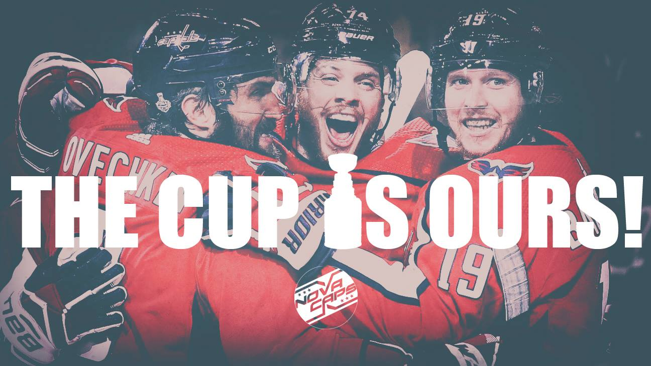Capitals Beat Knights 4 3 Win First Stanley Cup In