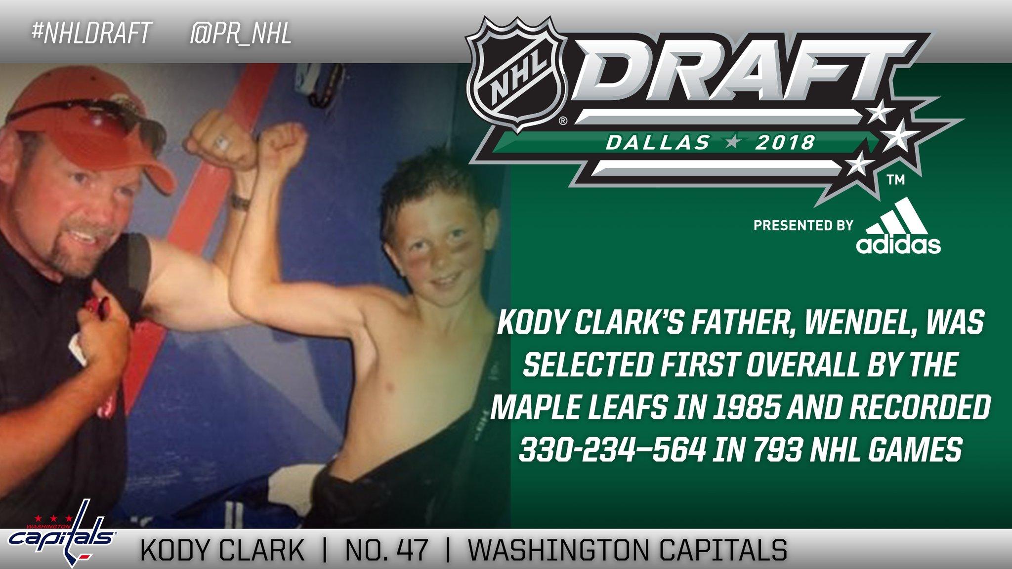 61729e52342 Capitals Select Martin Fehervary and Kody Clark With Second Round Picks