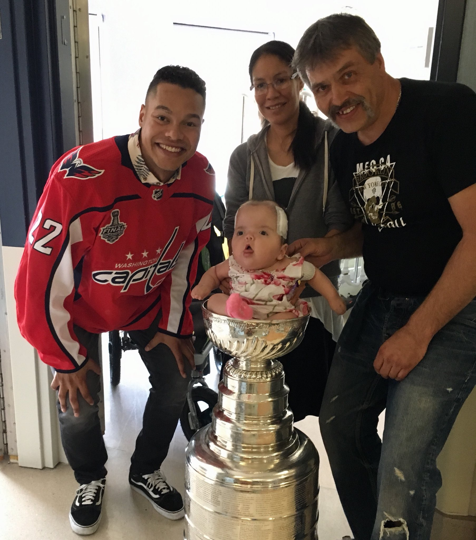 5fb2fec29 Capitals Madison Bowey s Day with the Stanley Cup  Winnipeg ...