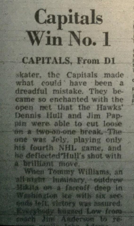 Caps Game 1 1974 P2