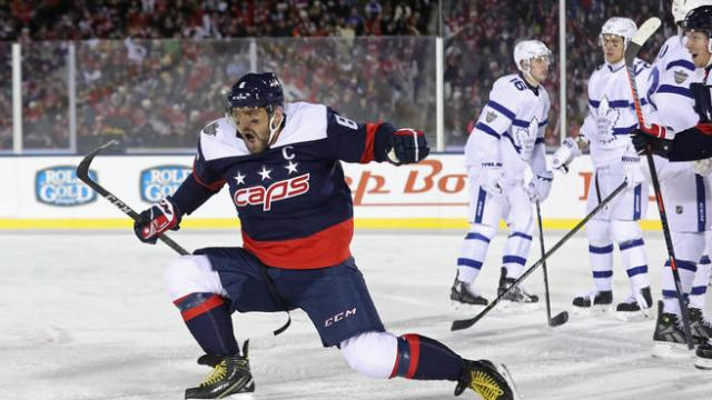 NHL: Stadium Series-Toronto Maple Leafs at Washington Capitals