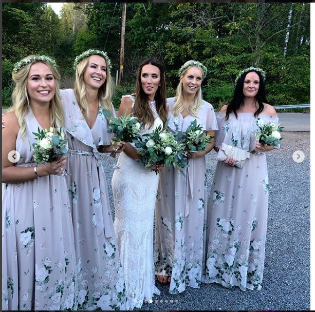 Bridesmaids at Johansson Wedding #2