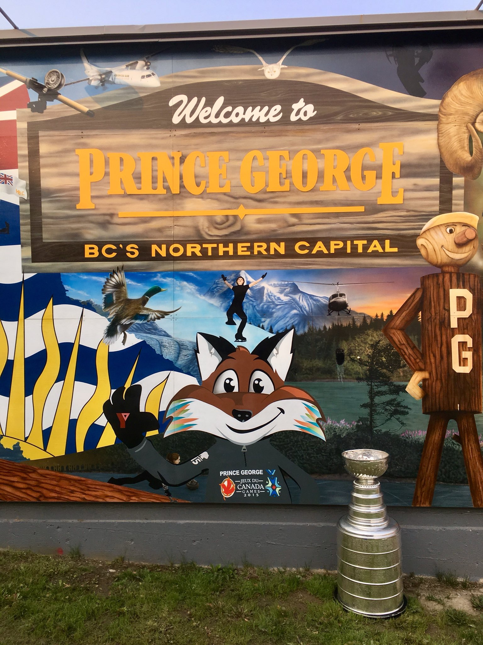 d6e99bf63 Brett Connolly s Day With The Stanley Cup in Prince George
