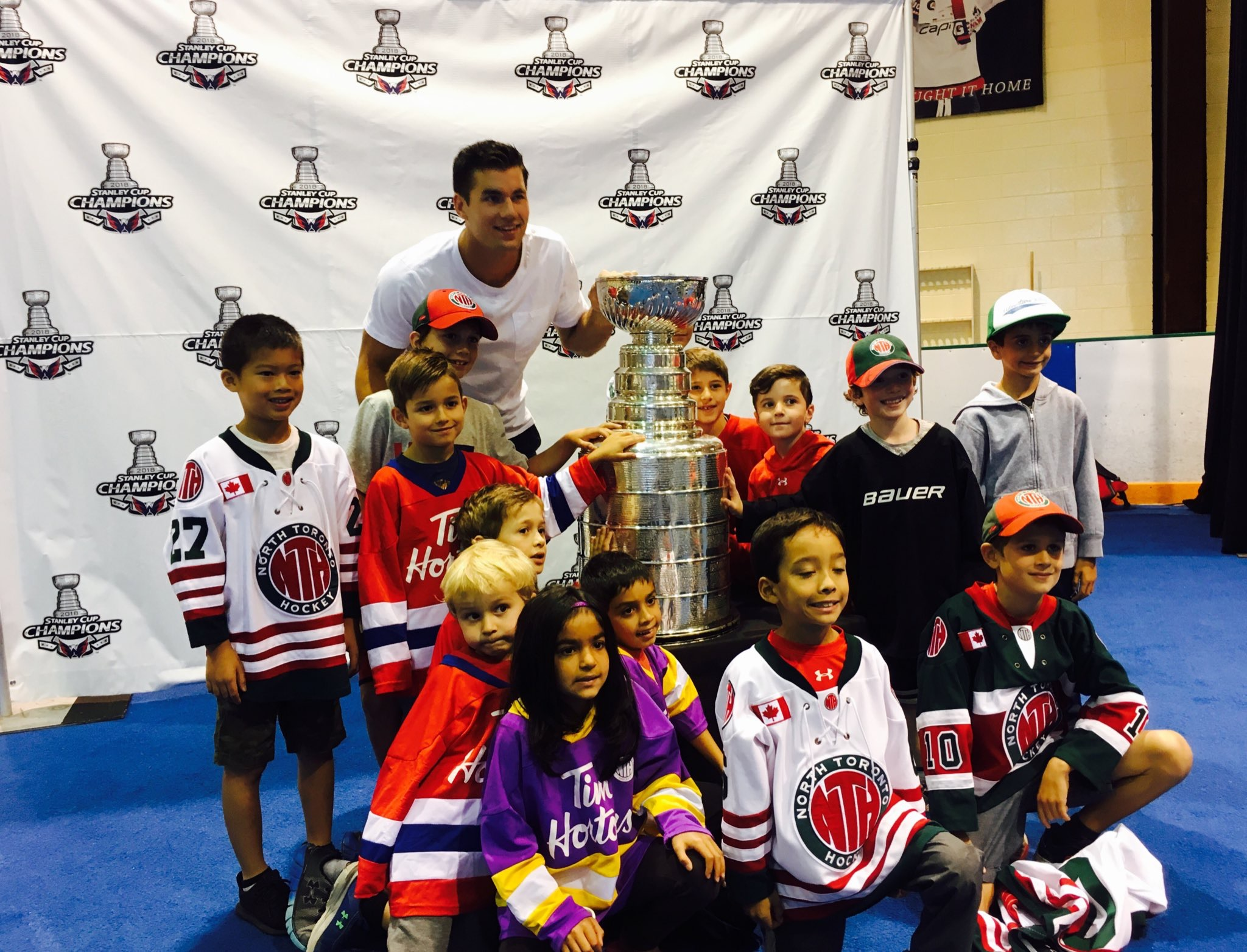 Recap of Tom Wilson s Day With The Stanley Cup in Toronto f28b78124