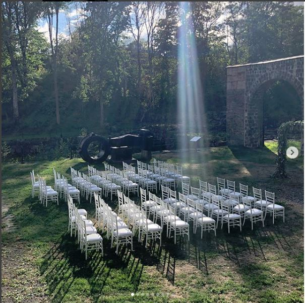 The Seating at Johansson Weddint