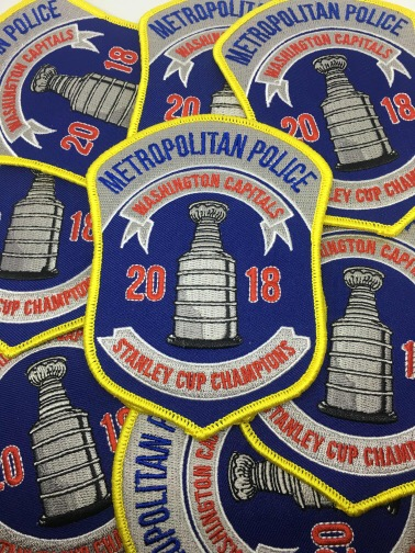 detailed look 39572 f1783 Police Departments Create Patches Honoring the Capitals ...