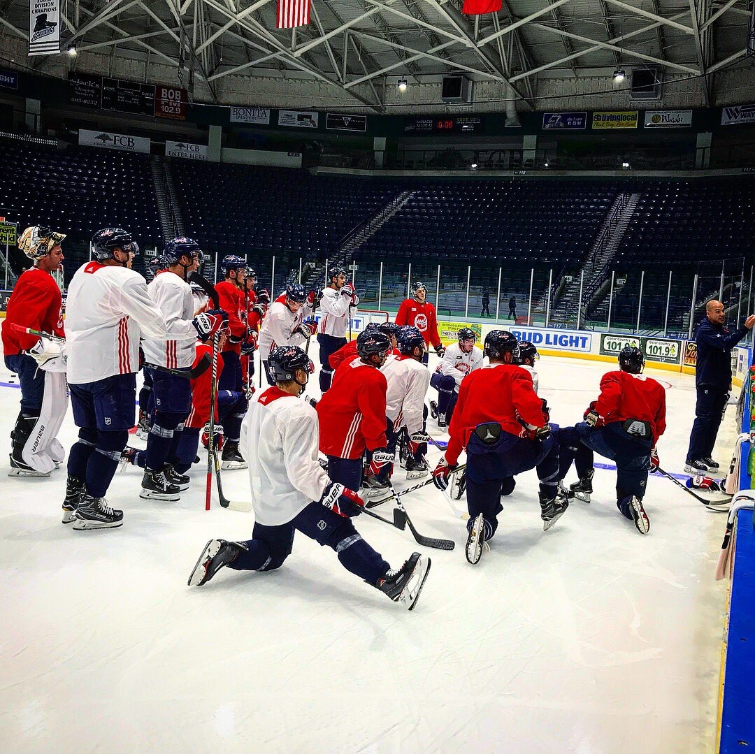 Capitals Prospects Prepare For Weekend Tournament With Tampa Bay