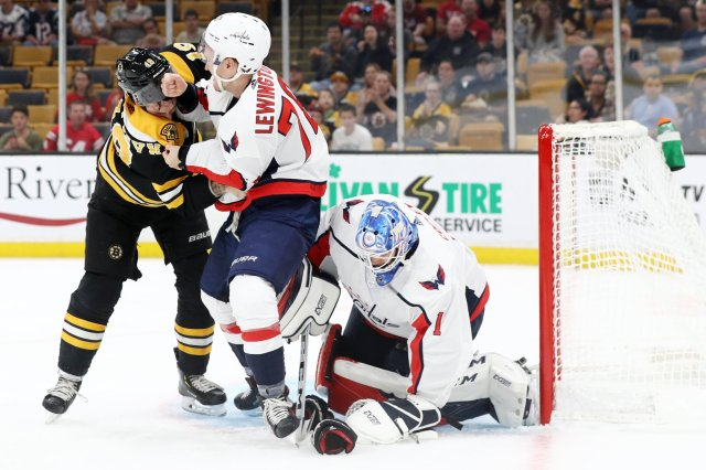 5a56598f697 Bruins Beat Capitals 2-1 In Shootout In Preseason Opener