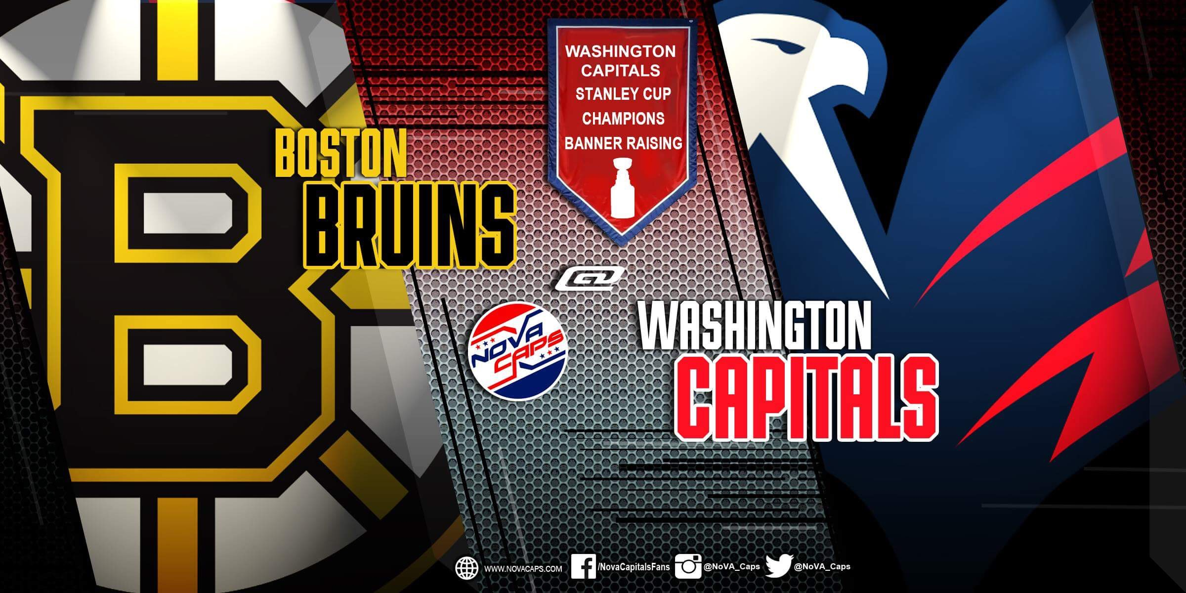 cd3c4cd4fd0 Banner Night Preview  Capitals Begin Quest For Repeat Against Bruins on  Wednesday