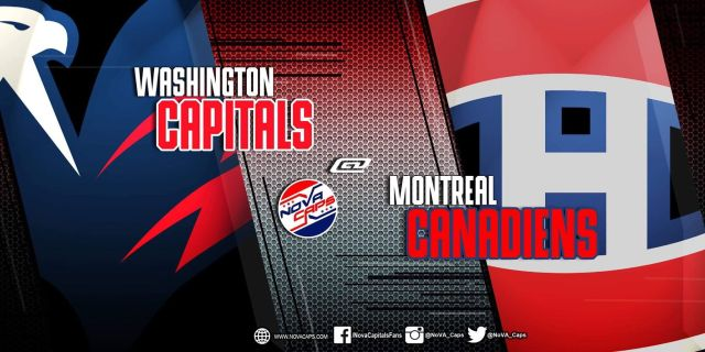 Capitals @ Canadiens graphic