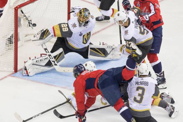 a071e8c07a2 Capitals Clash With Golden Knights In Stanley Cup Final Rematch ...