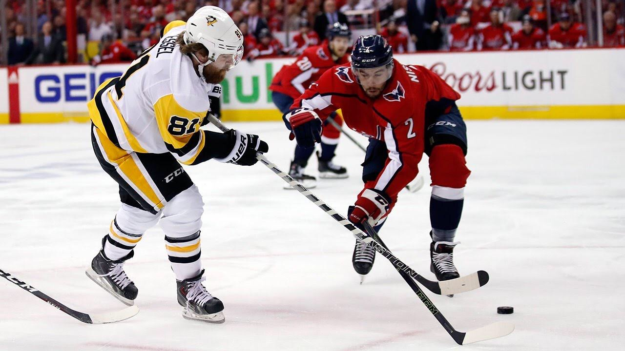 7fae2dd84ff Capitals Beat Penguins 2-1  T.J. Oshie Scores Game-Winner