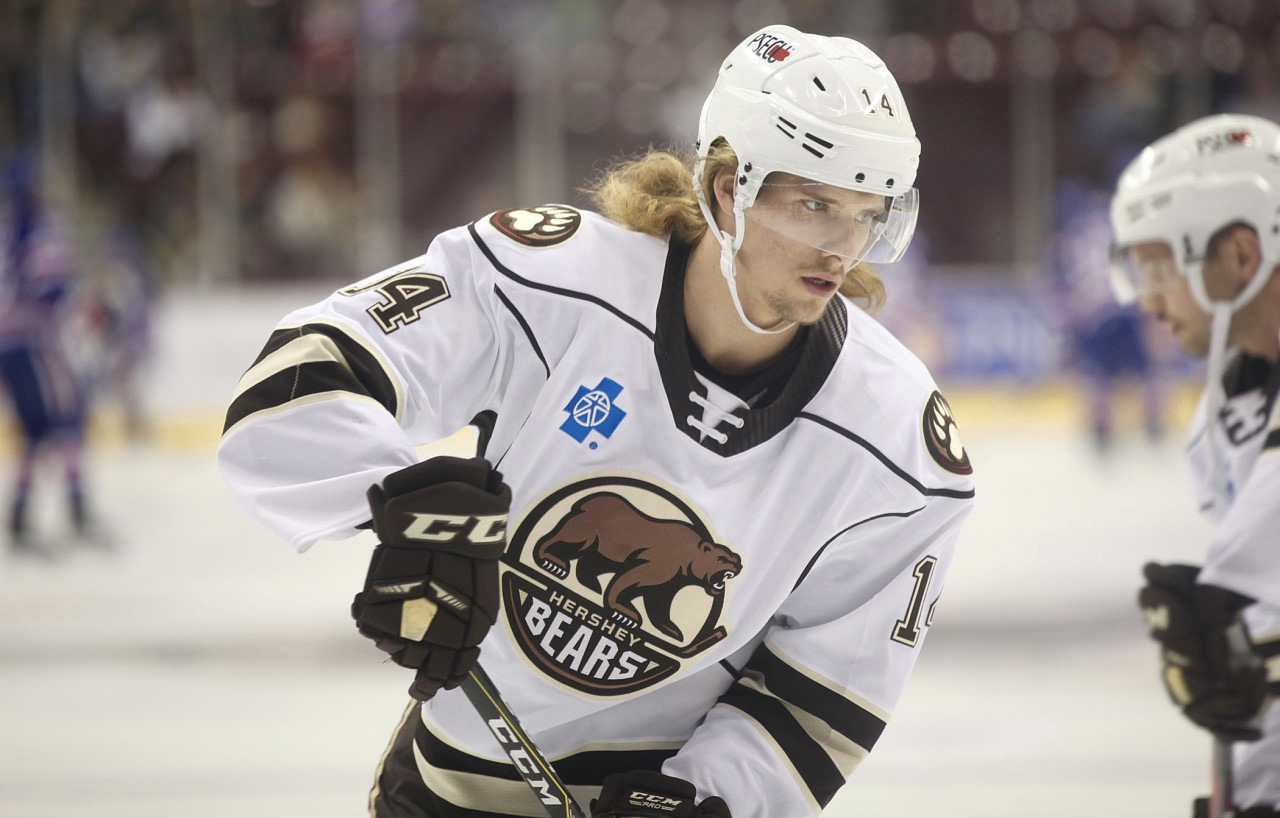 Axel Jonsson Fjallby Is Adjusting To Life In Hershey And The