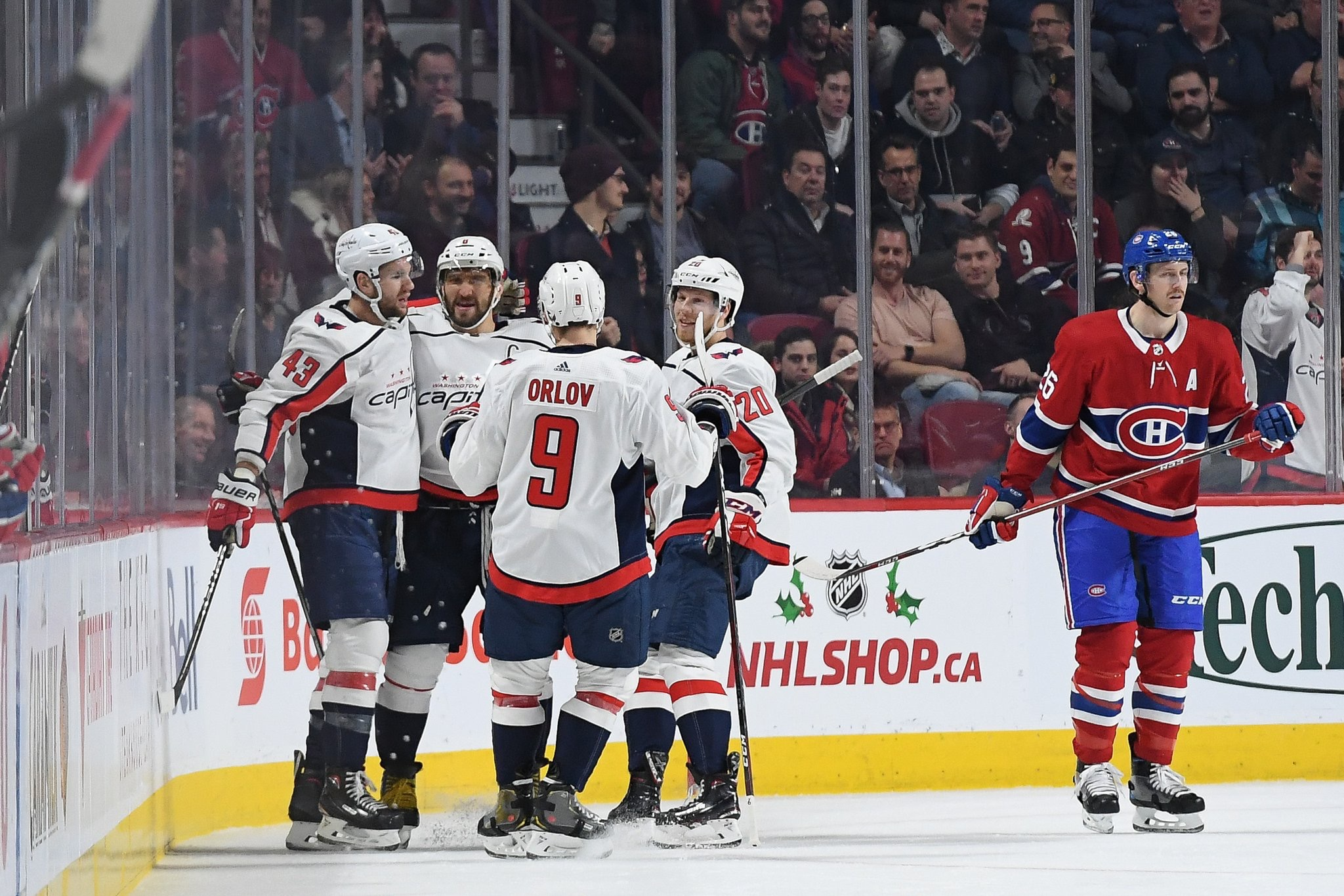61e8be91d71 Capitals   Canadiens – Inside The Numbers  Ovechkin Scores Twice ...