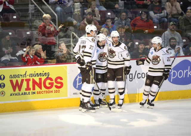 Two Goals From Shane Gersich Helps Hershey Bears Defeat