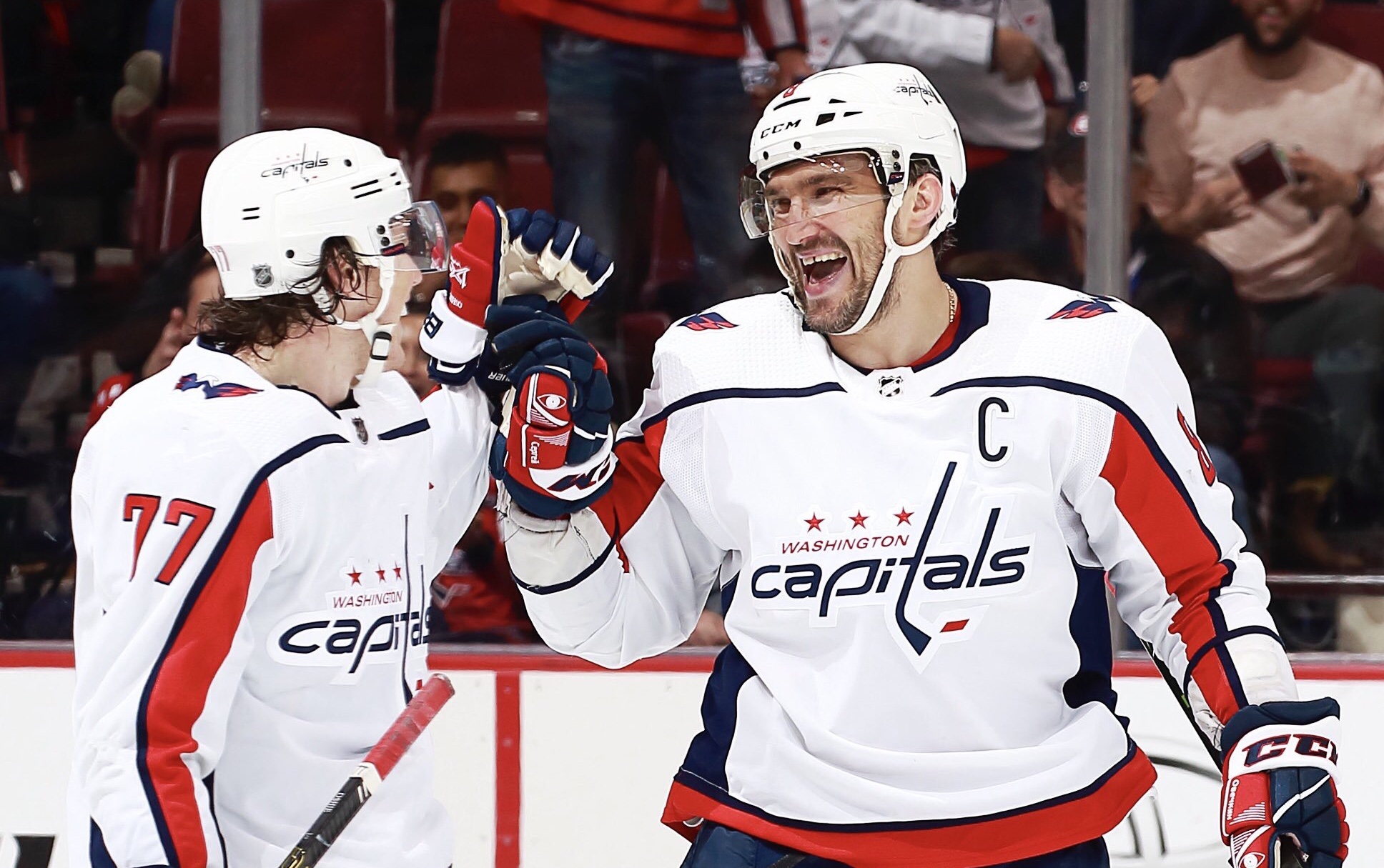a3181356d60 Alex Ovechkin Records Second Consecutive Hat Trick
