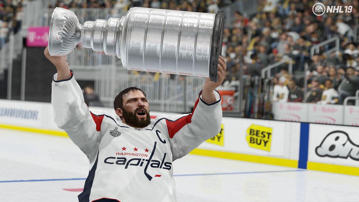 Game Highlights – Washington Capitals vs… Washington Capitals  Jakub Vrana  And Madison Bowey Battle In NHL 19 873c85983499
