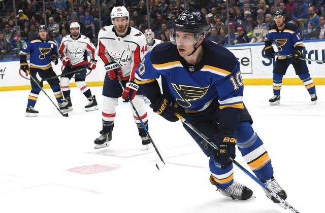 NHL: APR 02 Capitals at Blues