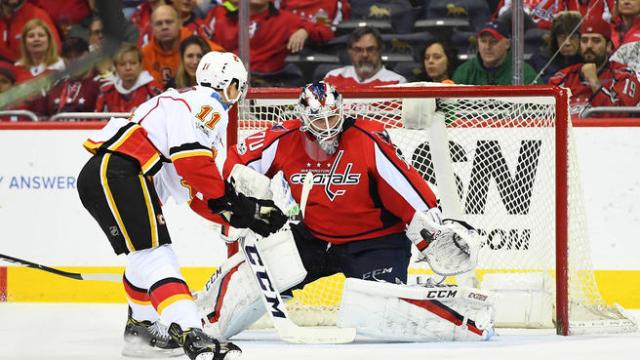 NHL: Calgary Flames at Washington Capitals