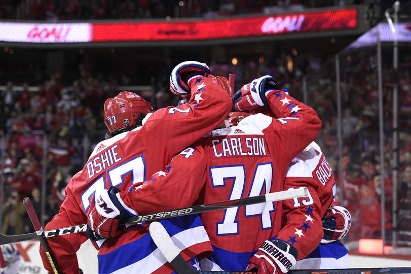 90d6b37b654 Capitals Beat Rangers 6-5 In Overtime  Nicklas Backstrom Scores A Pair