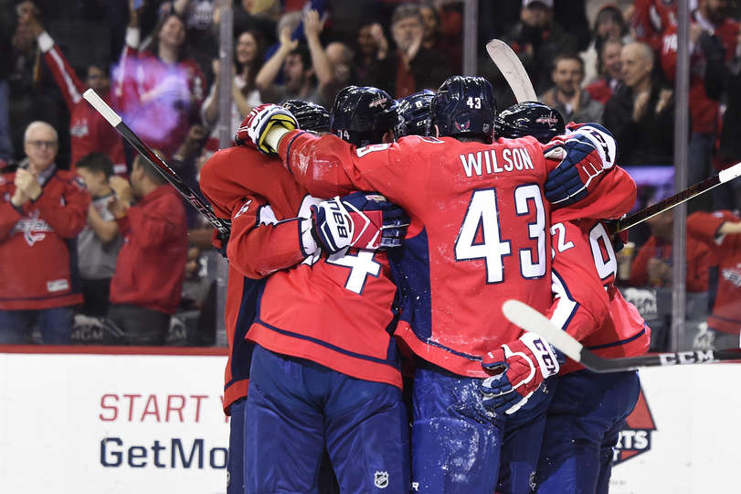 70c514f20eb Capitals Rally with Seven Unanswered Goals To Thump The Senators 7-2  T.J.  Oshie Scores A Pair