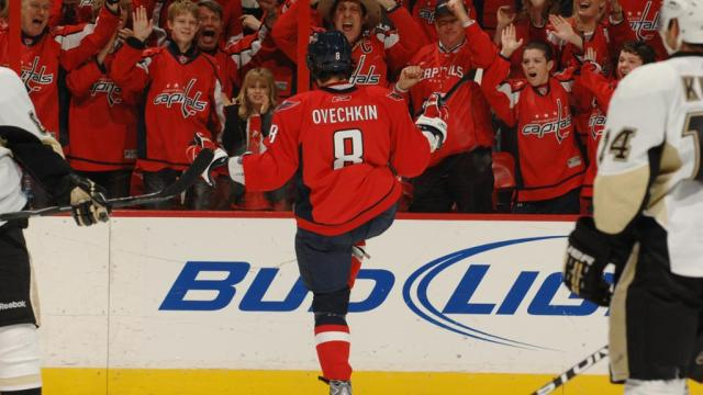 Ovi After Goal Superbowl Sunday 2010