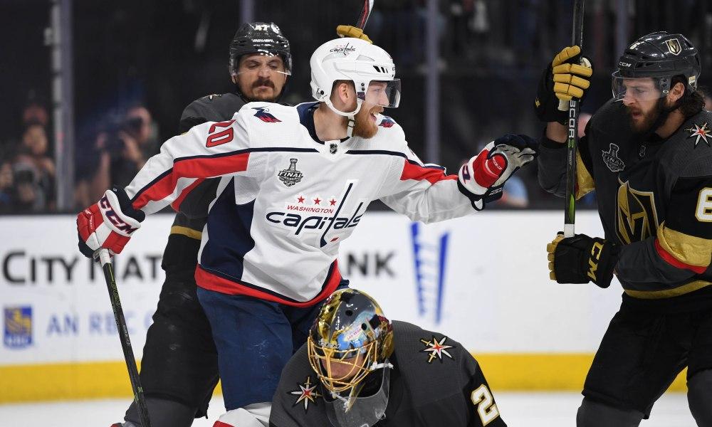 USP NHL: STANLEY CUP FINAL-WASHINGTON CAPITALS AT S HKN VGK