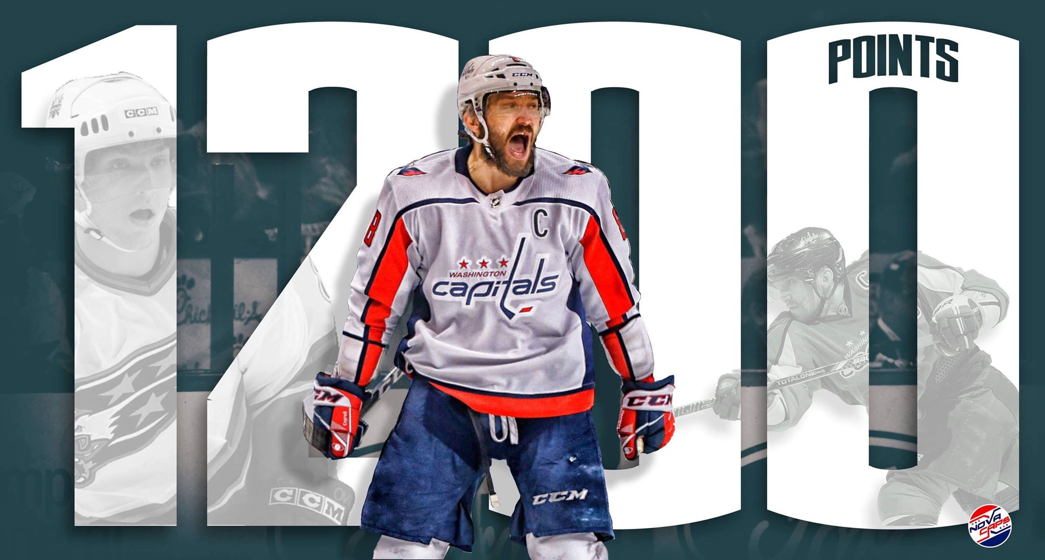 """1b30deb27c4 Another major milestone for the """"Great 8"""". In Tuesday night s Capitals tilt  with the Penguins"""
