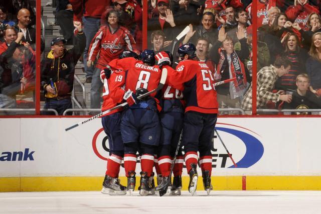 Caps Second Goal vs Bruins Nov 5 2010